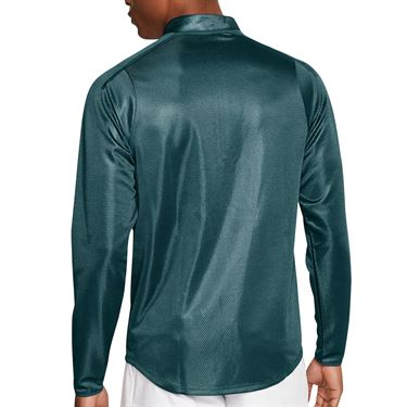 Nike Court Challenger 1/2 Zip Pullover Mens Dark Atomic Teal/White CK9822 300