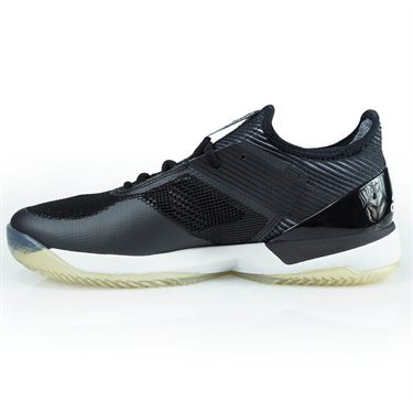 adidas adizero Ubersonic 3 Clay Womens Tennis Shoe - Core Black/White/Core Black