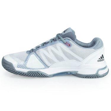 6313fe470728 adidas Barricade Club Mens Tennis Shoe - White Core Black Grey