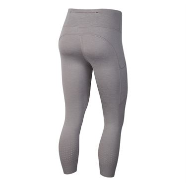 Nike Epic Lux Crop Legging Womens Atmosphere Grey/Reflective Silver CN8043 059