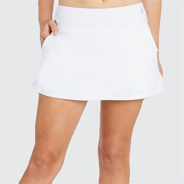 Eleven 14 Inch Fly Skirt - White