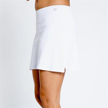 Eleven Pique Motion Skirt - White