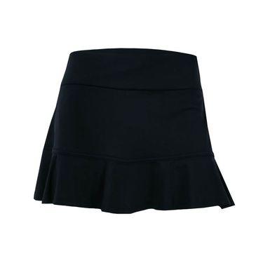 Eleven Pique Flounce Skirt 13 inch - Black