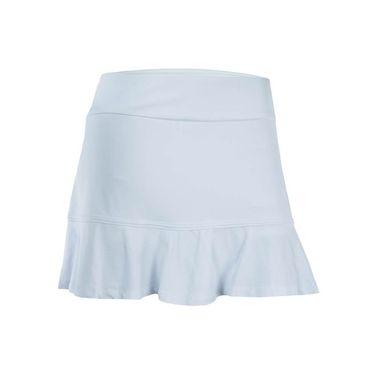 Eleven Pique Flounce Skirt 13 inch - White