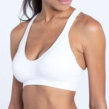 Eleven Seamless Parallel Sports Bra - White