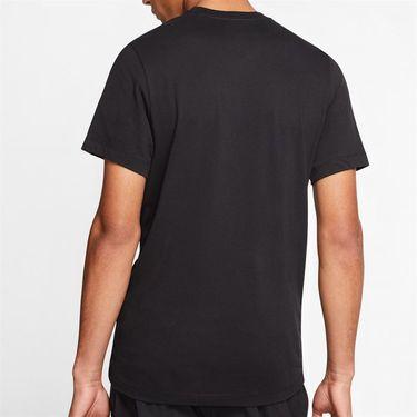 Nike Court Dri Fit Tee Shirt Mens Black CQ0971 010