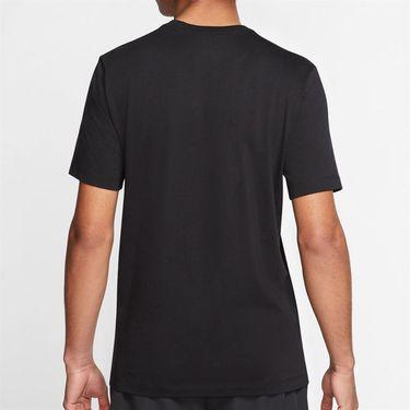 Nike Court Tee Shirt Mens Black CQ2422 010