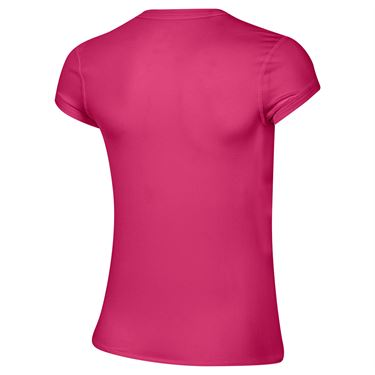 Nike Court Dri Fit Top Womens Vivid Pink/White CQ5364 616