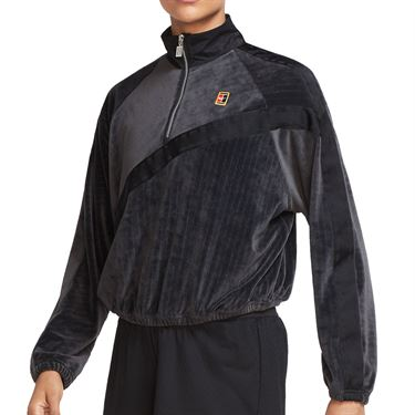 Nike Court Long Sleeve Top Womens Black CQ8981 010