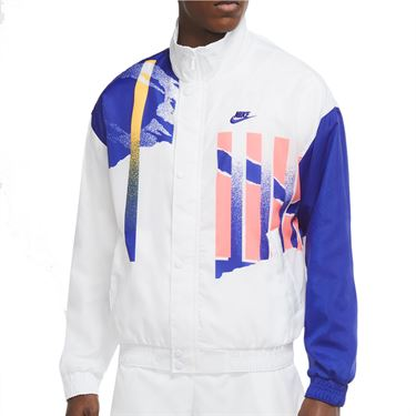Nike Challenge Court NYC Jacket - White/Ultra Marine/Solar Red