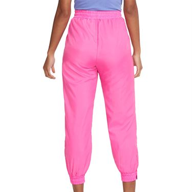 Nike Court Pant Womens Pink Foil/Hot Lime/White/Sapphire CQ9195 686