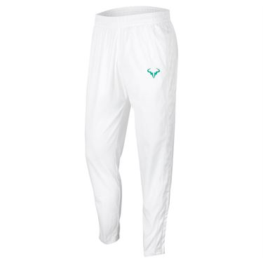 Nike Court Rafa Pant Mens White/Lucid Green CQ9245 100