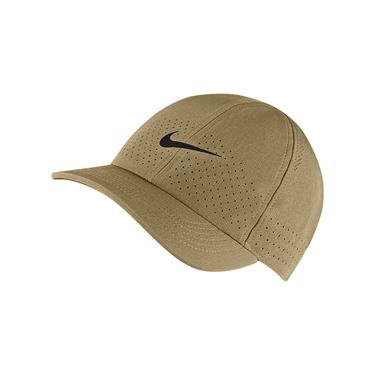 Nike Court Advantage Hat - Parachute Beige/Black