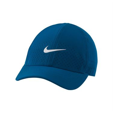 Nike Court Advantage Hat - Green Abyss/White