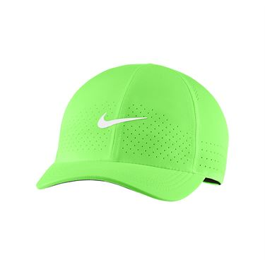 Nike Court Advantage Hat - Lime Glow/White