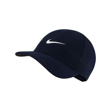 Nike Court Advantage Hat - Obsidian/White