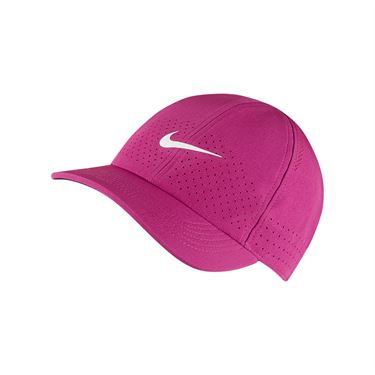 Nike Court Advantage Hat - Cactus Flower/White