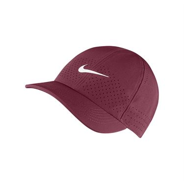Nike Court Advantage Hat - Dark Beetroot/White
