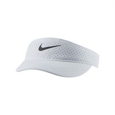 Nike Court Womens Advantage Visor - White/Black