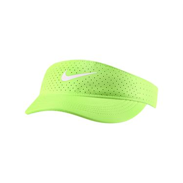 Nike Court Womens Advantage Visor - Lime Glow/White