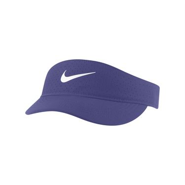 Nike Court Womens Advantage Visor - Dark Purple Dust/White