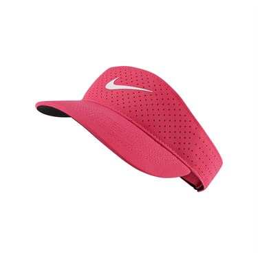 Nike Court Womens Advantage Visor - vivid pink
