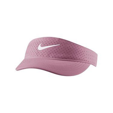 Nike Court Womens Advantage Visor - Elemental Pink/White