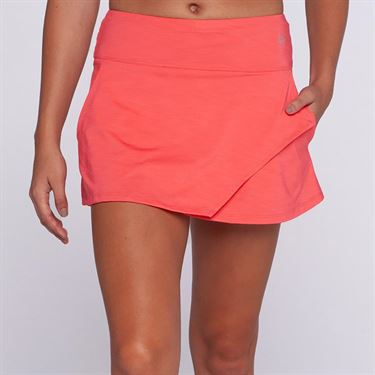 Eleven Ikat Fly Skirt 13in - Coral