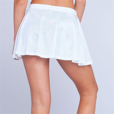 Eleven Caracas Meshed Up 13 Inch Skirt - White