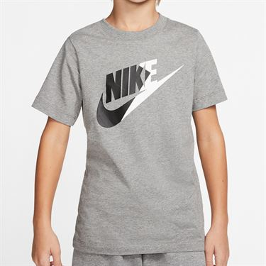 Nike Boys Sportswear Tee Shirt Carbon Heather CT2615 091