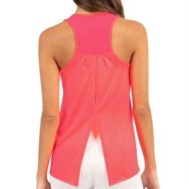 Lucky in Love Cest La Vie Tie Back Tank Womens Coral CT327 801