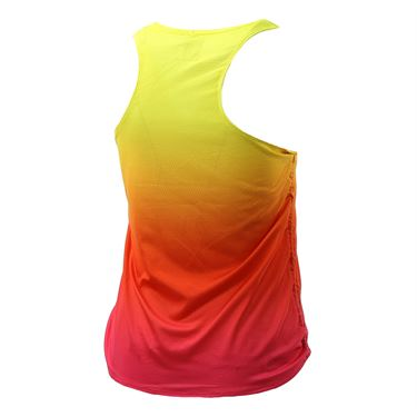 Lucky in Love Core Ombre Cinch Tank - Shocking Pink