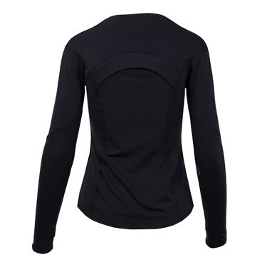 Lucky in Love Long Sleeve Element Crew - Black