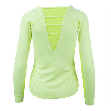 Lucky in Love Haviana Long Sleeve Top - Lemon Frost