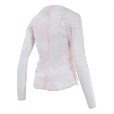 Lucky in Love American Love Story Acid Long Sleeve Mesh w/Tank - Pink Tint