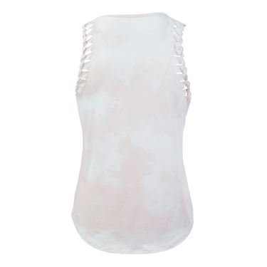 Lucky in Love American Love Story Acid Twist Racer Tank - Pink Tint