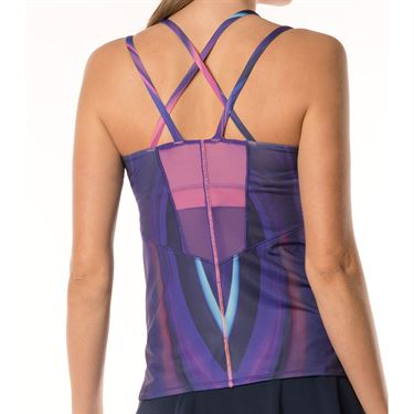 Lucky in Love Active Fit Ultraviolet Cami - Ultraviolet Print