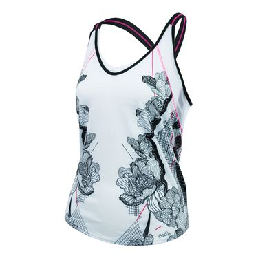 Lucky in Love Off The Charts Chill Fit Tank - White