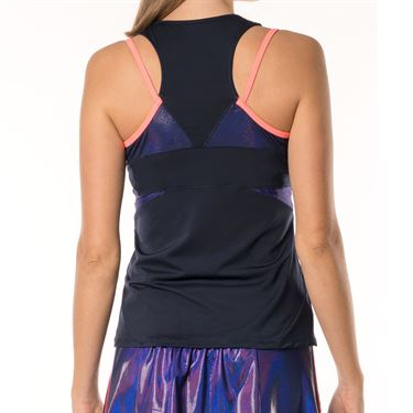 Lucky in Love Active Fit Ultraviolet Stamina Tank - Midnight