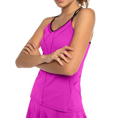 Lucky in Love Rockin Rococo Strappy Tank Womens Pitaya CT450 699