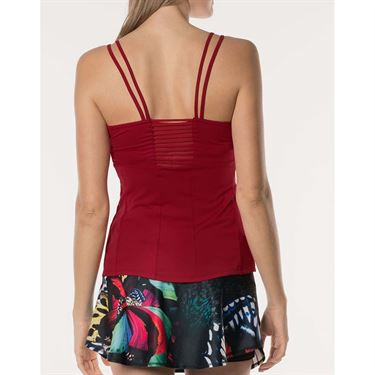 Lucky in Love Active Fit Monarch Captive Tank - Brandy