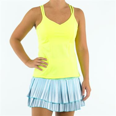 Lucky in Love Las Palmas Active Fit Outta Sight Cami - Neon Yellow