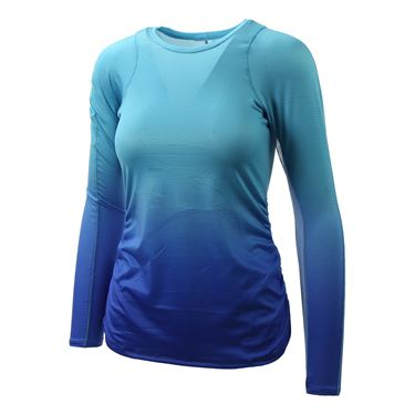 Lucky in Love Core Ombre Long Sleeve - Parisian Blue