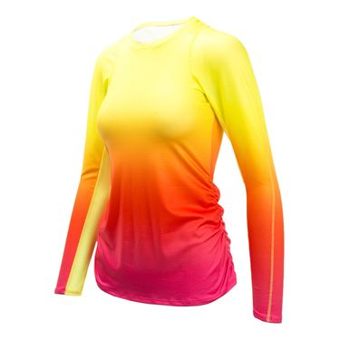 Lucky in Love Core Ombre Long Sleeve - Shocking Pink