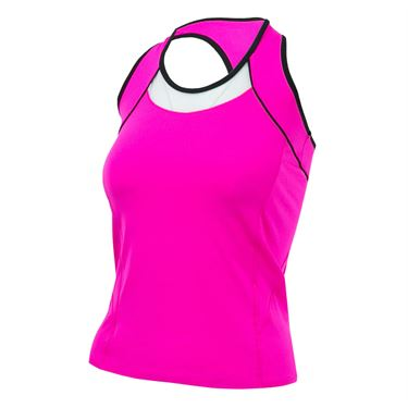 Lucky in Love Off The Charts Chill Fit Racerback Tank - Pink Glow