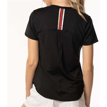 Lucky in Love Go For the Metal Olympian Short Sleeve - Black