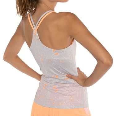 Lucky in Love Eyelet Go Cami Womens Orange Frost CT575 C09824