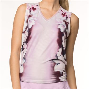 Lucky in Love Lush Daze Lush Ombre Tie Back Tank - Lavender