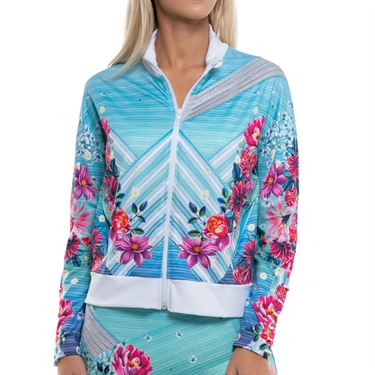 Lucky in Love K Swiss Collaboration Force Of Nature Jacket Womens Multi CT587 F66955