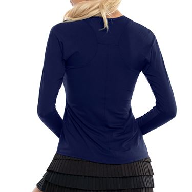 Lucky In Love LUV Breeze Long Sleeve Crew Womens Midnight CT634 401